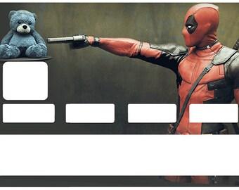 Super héros MARVEL COMICS Cadeau Adultes /& Enfants TOP Deadpool Pocket Sweat à Capuche