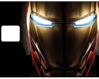 Sticker for credit card, Iron man - sticker - credit card sticker