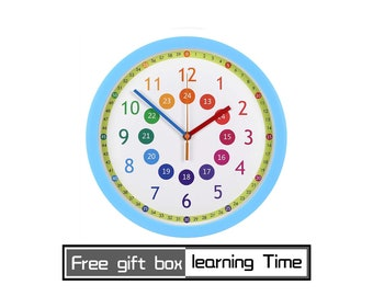Multiplication Children Bedroom decor, Place Value Baby Yoda Poster Clock Kids Wall Art 8x Math Sets Prints Times table Montessori