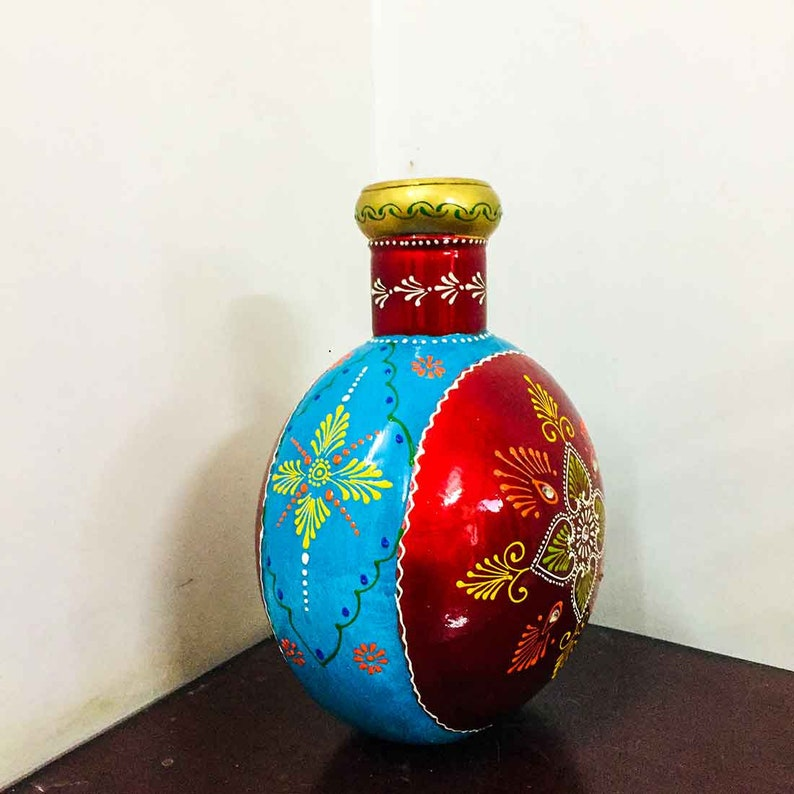Decorative Traditional Flower Pot 12 Inches for TAble Decor
