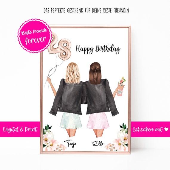 Freundin zum geburtstag die an beste brief Geburtstagswünsche Für