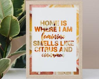 Hayley Williams Cinnamon A4 Digital Download Lyric Print    Petals For Armor   Music Gift   Paramore Gift   Song Lyrics Graphic Design  