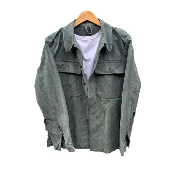 French workwear chore jacket