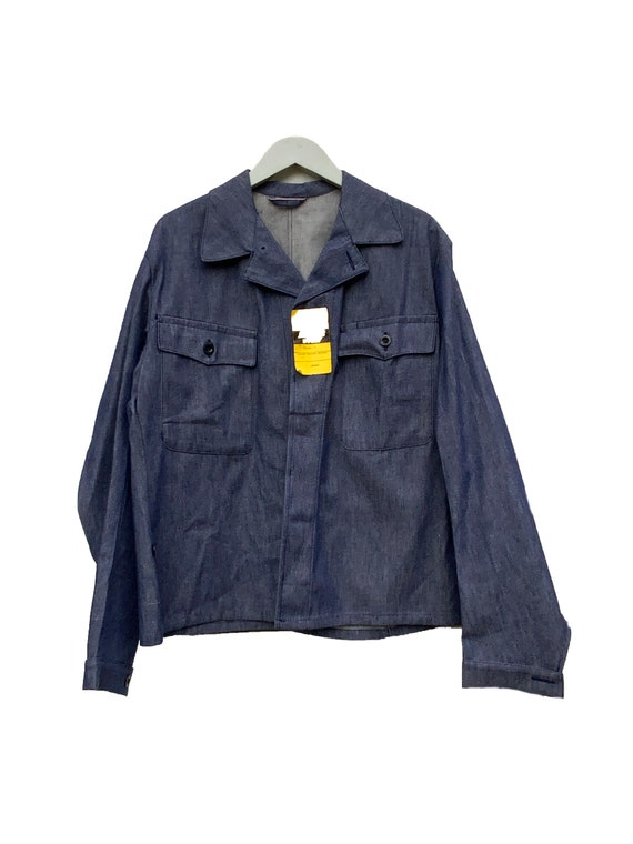 Deadstock Indigo Denim workwear #195