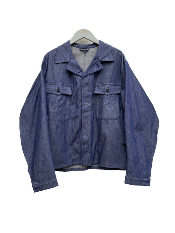 Deadstock Indigo denim workwear #194