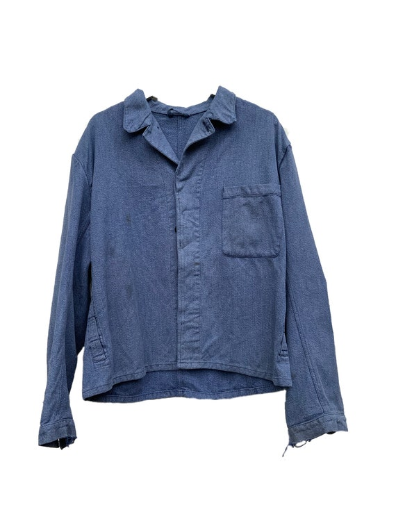 Indigo denim workwear jacket #202