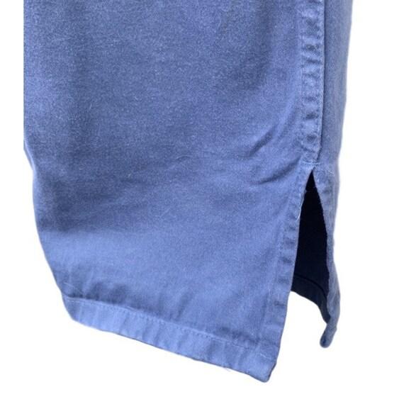 French vintage workwear porters jacket indigo 100… - image 3