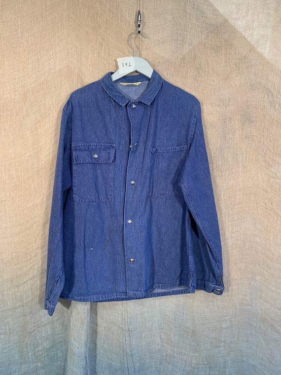 Unisex Cotton Denim Workwear shirt