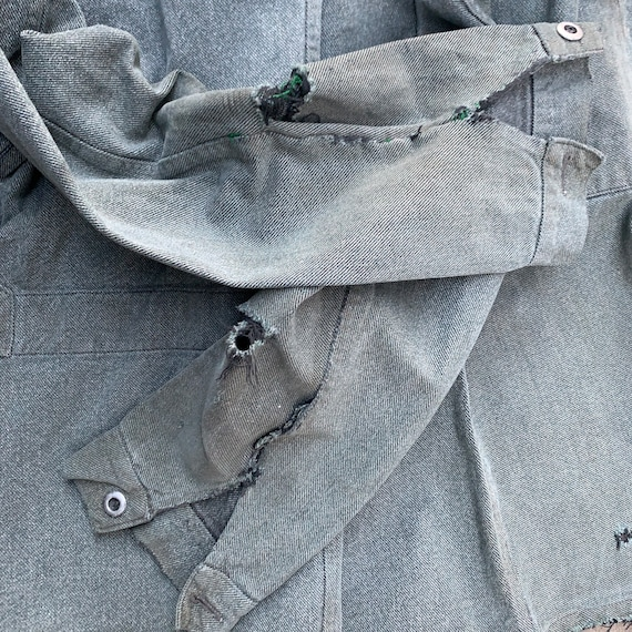 French workwear chore jacket - image 2