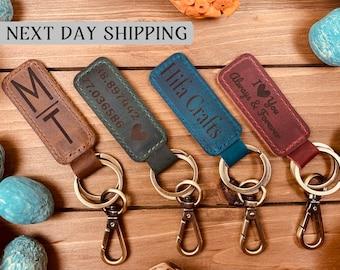 Personalized Leather Keychain, Customized Keychain,Custom Leather Key chain,coordinates key chain longitude latitude keychain,Best Gift