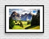 Fine Art Photo Print, Dolomites