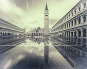 Fine Art Landscape Photo Print, Venice, Certified, Signed by the Author