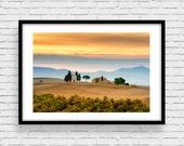 Fine Art Landscape Photo Print, Tuscany
