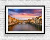 Fine Art Photo Print, Firenze