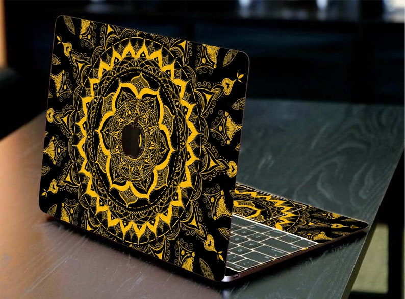 Mandala macbook skin Pro Retina 13 decal Laptop skin macbook 15 sticker custom macbook 12 inch skin macbook Air 11 2017 skin macbook Pro 15
