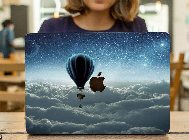 Balloon Airship macbook skin sky macbook Air 13 2019 decal macbook Pro 15 2019 sticker macbook Pro Retina 15 skin macbook Pro 16 inch skin