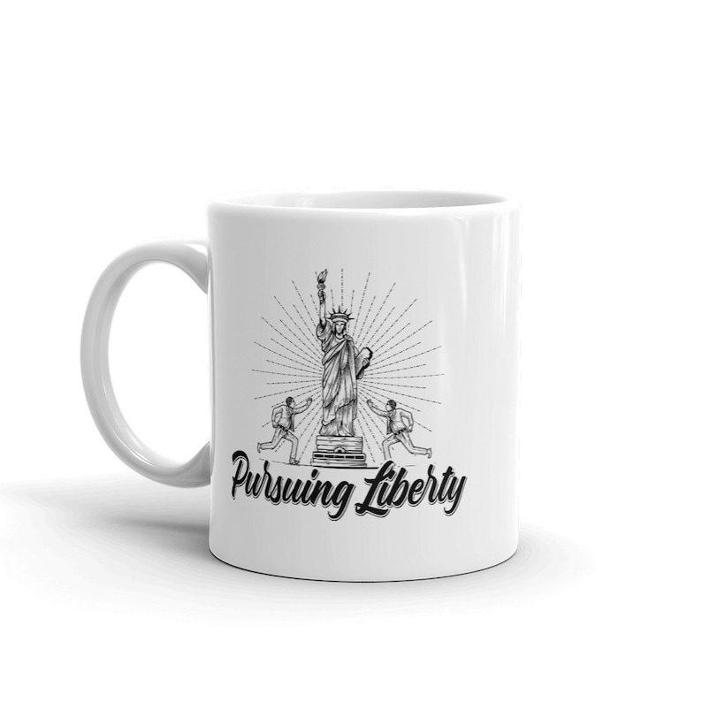 Pursuing Liberty Mug image 0