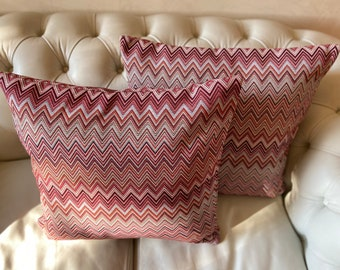 Cusse cover - handmade 50 x 50 cm - 100% made in Italy - Pillow cover hand Made 20x20 inches