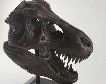 T Rex Skull Etsy