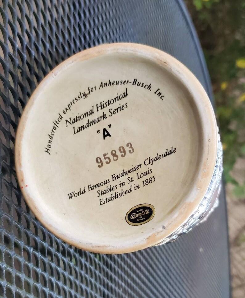Vintage Budweiser Clydesdales Stein Mug Series A