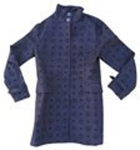 MCM Monogram black short Trench Coat Jacket