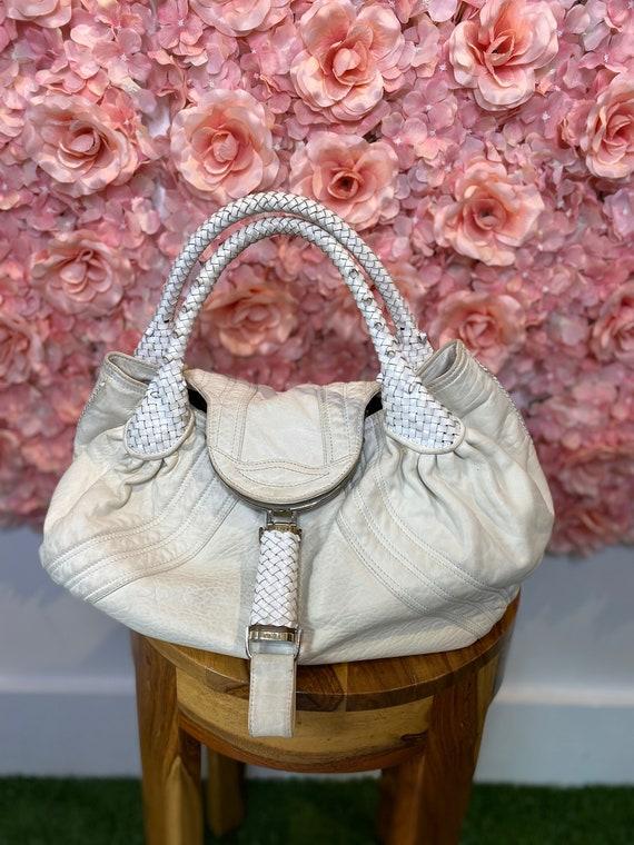 Fendi Spy bag, white