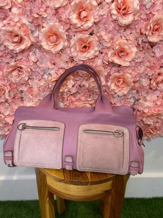 Ferragamo bag, Lilac