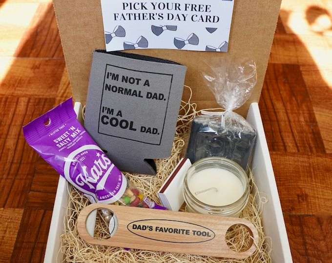 New Dad Gift Box, A Great Way to say Congratulations to a New Father!