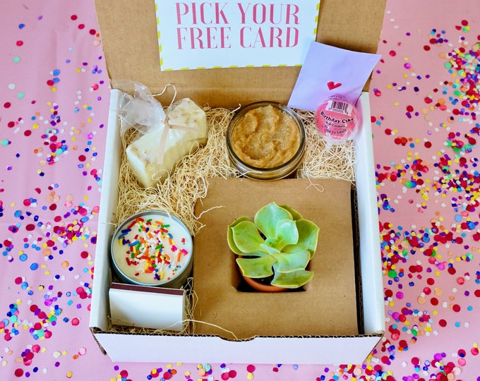 Birthday Succulent Gift Box, the perfect birthday gift!