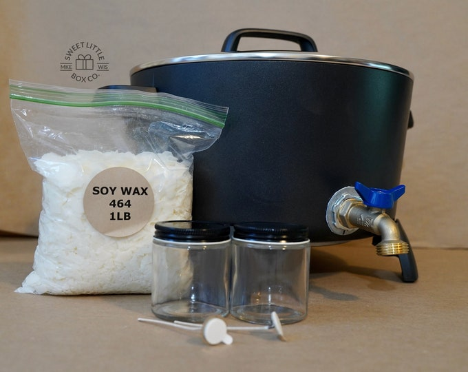 18 lbs, 10 qt, BIG Melter, FREE supplies, Mechanically Secured Spout