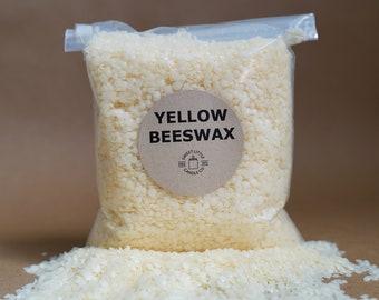 USA Beeswax Pellets, Yellow 4oz, 8oz, 12oz, 1lb, 2lbs, 5lbs, 10lbs, 20lbs, 30lbs
