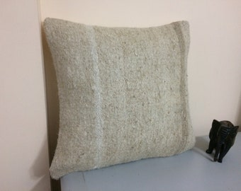 Turkish Kilim Pillow Covers 20x20 inches 50x50 cm Bolster Pillow Handmade Rug Pillow Case Throw Pillow 4ef-839