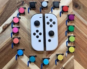 2-Pack JoyCon 3D JoyStick Replacements (Compatibility: Nintendo JoyCons & Switch Lite)