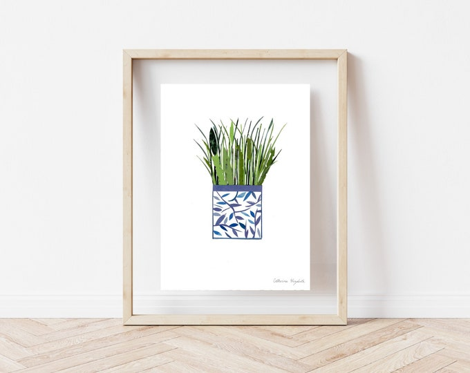 """Featured listing image: """"Greenery"""" Print, 8x10"""""""