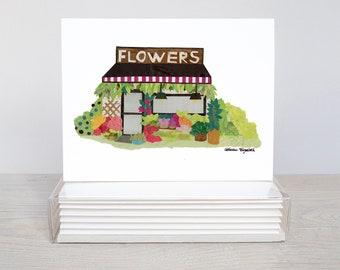 Flower Shop - Greeting Card Set