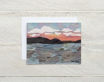 Sunrise on Little Glen - Individual Card