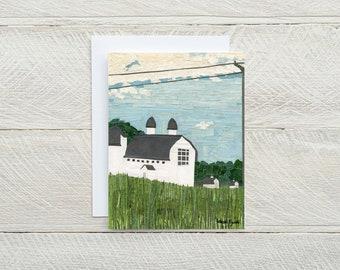D.H. Day Barn - Individual Card