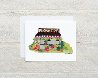 Flower Shop - Individual Card