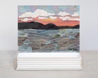 Sunrise on Little Glen - Greeting Card Set