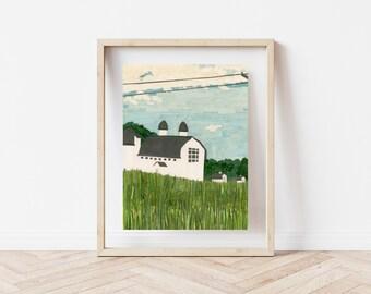 """D.H. Day Barns"" Print, 8x10"""