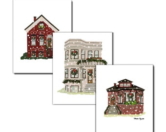 Chicago Holiday - Mix Pack Greeting Cards