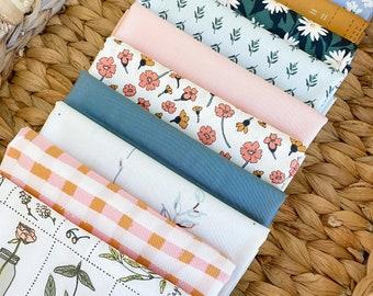 Countryside Flowers fabric bundle - Art Gallery Fabrics - 10 piece Fat Quarter Bundle