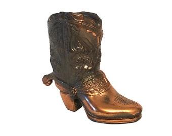 BULK 20 Bronze Cowboy Boot Charm Pendant by TIJC SP0713B