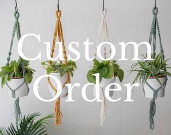 Custom Macrame, Custom Wall Hanging