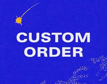 Custom Order — Shirt  / Sweatshirt