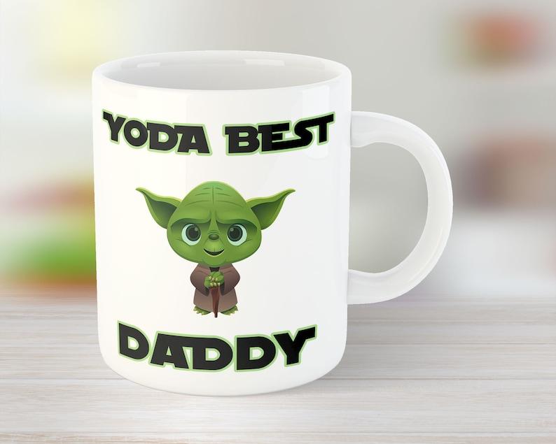 Yoda Best Daddy Mug for Star Wars fan