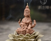 The Goddess Lakshmi, Mold for candles, resin , gypsum or soap. Hinduism, Feng Shui Molds, chakras Mold , Goddess of love , fortune