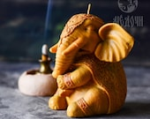 Silicone mold for candle or resin A Big Elephant