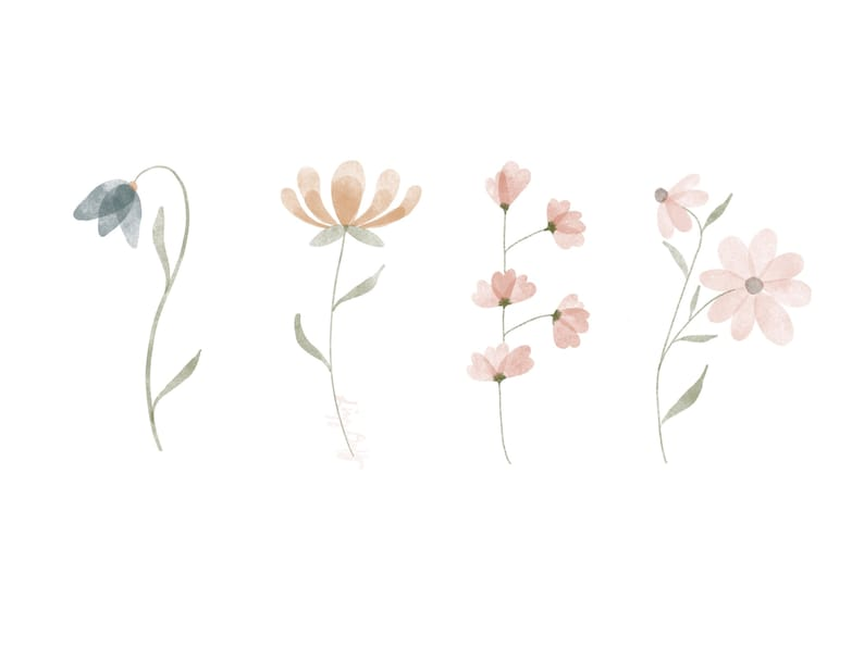 Blooms Downloadable Print