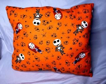Halloween pillow cover-Halloween decor-Boo pillow cover-Halloween lumbar pillow-rustic pillow-home decor-fall pillow-by NATURA PICTA-NPLP003